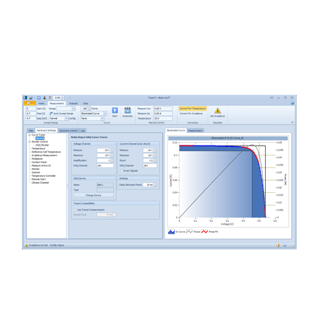 Tracer IV Curve software